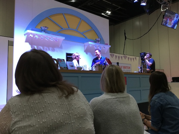 cake & bake show, london, excel, nancy birtwhistle, great british bake off