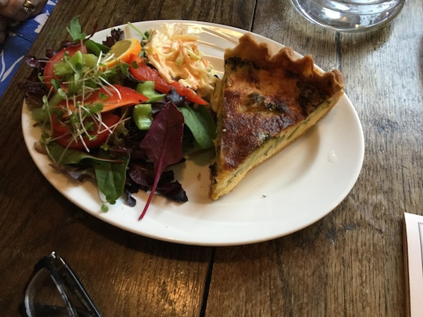 farer's tea and coffee merchants, kendal, tea house, lunch, quiche