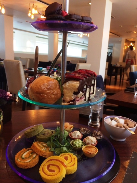 Glam Rock Afternoon Tea, K West Hotel and Spa, Shepherd's Bush, London,