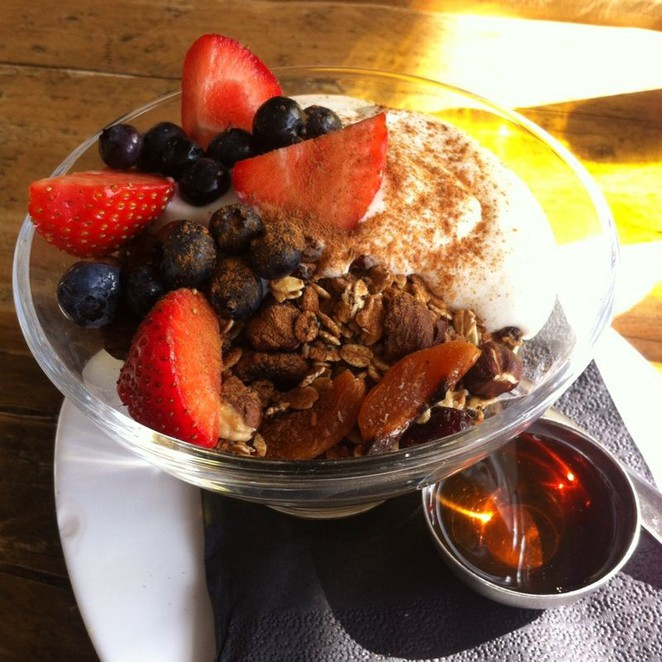 Granola healthy hearty food grub liverpool unit51 tasty fresh fruit syrup natural