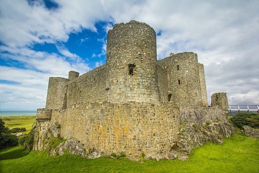 harlech castle, harlech, snowdonia national park, wales, north wales, gwynedd, castles, UNESCO