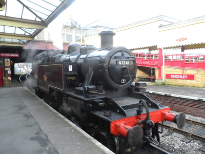 Keighley and Worth Valley railway, steam train,howarth,bronte
