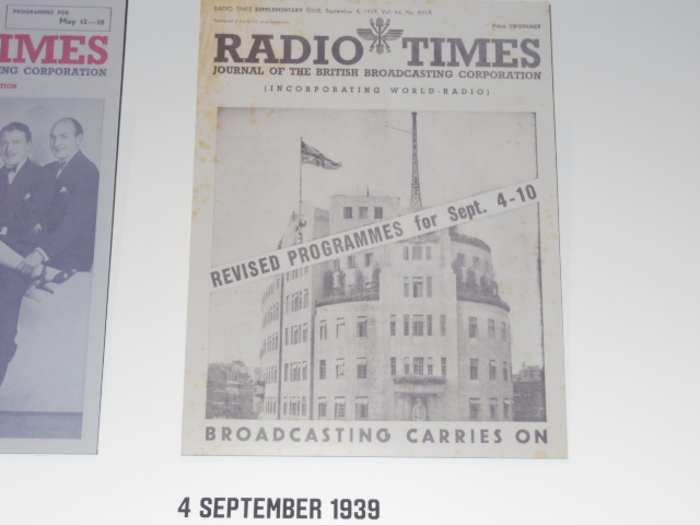 radio times, cover story, anniversary, museum of london, birthday, 90, world war two