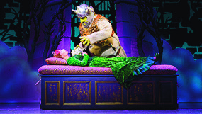 Shrek the musical, tour