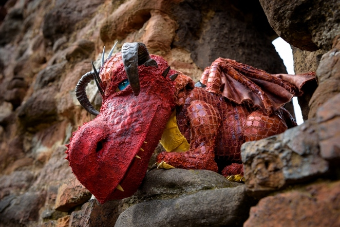 Tamworth Castle, Dragon Hunt