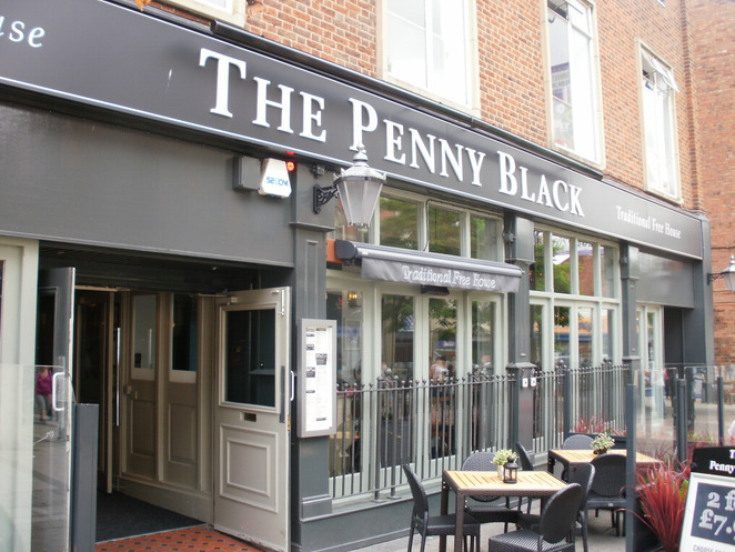 The Penny Black, Tamworth, post office, Yates's, Stonegate, Marstons, Jennings,