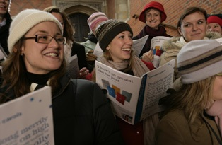 Carols in the Courtyard at Hampton Court Palace