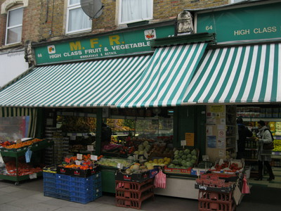 Chatsworth Road, London, E5, East London, Market, shops