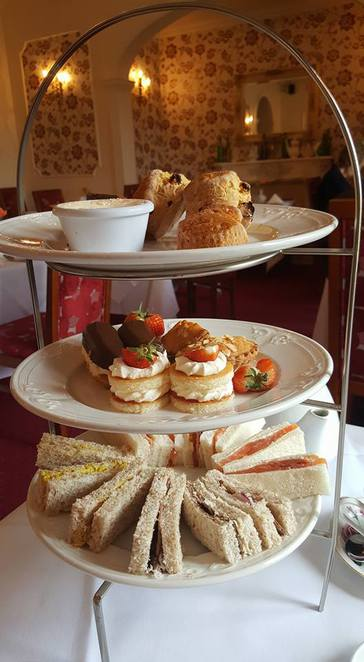 Cream Tea Afternoon Tea Bagden Hall Luxury