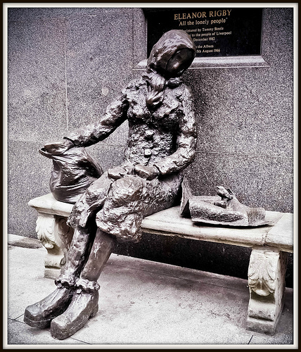 Eleanor Rigby Statue, Stanley Street