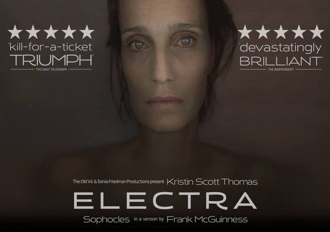 electra, old vic theatre