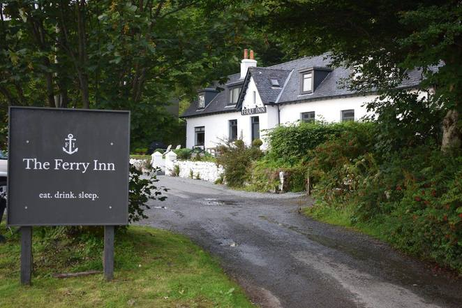 Ferry Inn, Isle of Skye, gastropub, Skye, Uig, dining, restaurant, food
