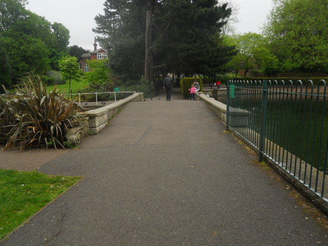 grove park, bridge