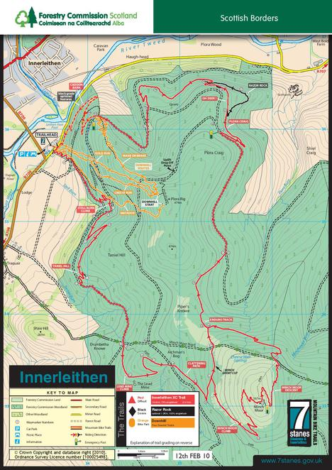 Innerleithen, Mountain Biking, Glasgow, Scotland, Scottish Borders, Outdoor Activities, Biking, Trail Map