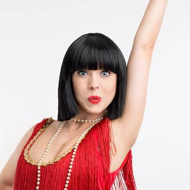 Joanne Clifton, thoroughly modern Millie, UK tour theatre , strictly come dancing professional