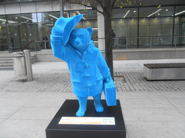 paddington trail, paddington bear, bearing up, taylor wimpey