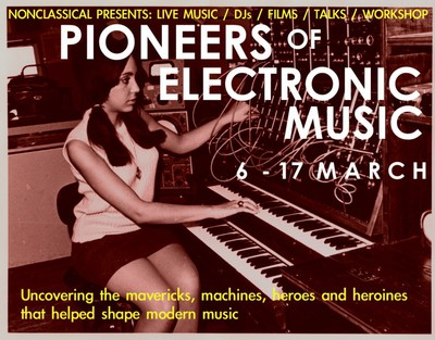 pioneers of electronic music, non classical