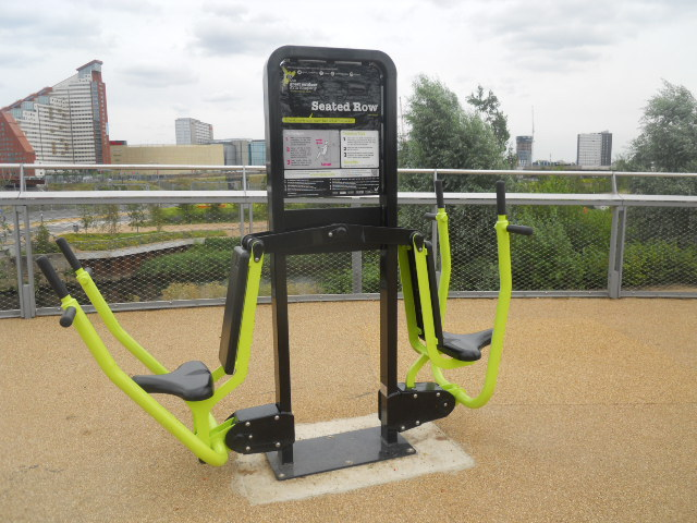 queen elizabeth olympic park, alfred's meadow, gym equipment