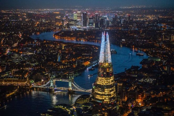 Shard Lights, London