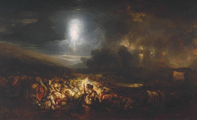 Turner's The Field of Waterloo at Tate Britain