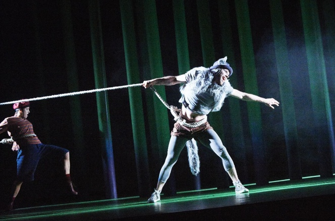 The wolf and peter, Coisceim dance theatre, David Bolger, review, Prokofiev