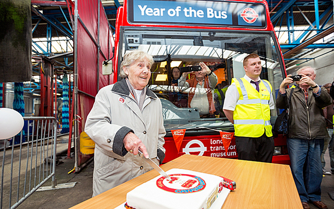 year of the bus, bus garage open day