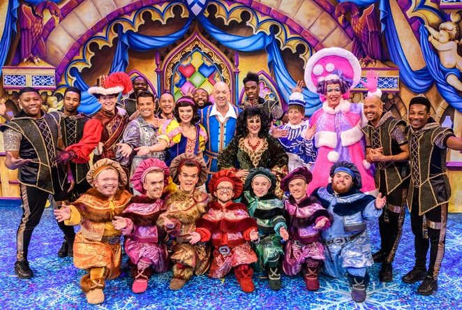 Birmingham Hippodrome, snow white and the Seven Dwarfs, panto, Christmas shows brum