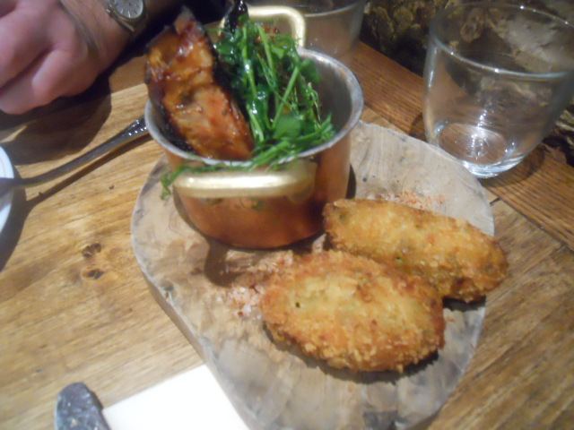 blanchette, french cuisine, restaurant, french restaurant, soho, pork ribs, croquettes