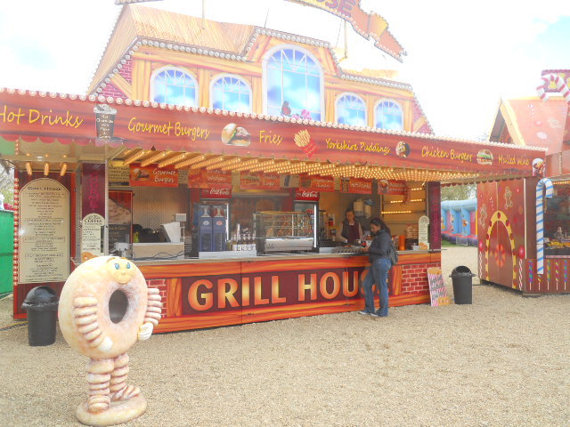 clapham common, theme park, fun fair, grill house
