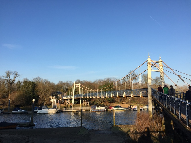 Bridge Connecting Teddington and Ham