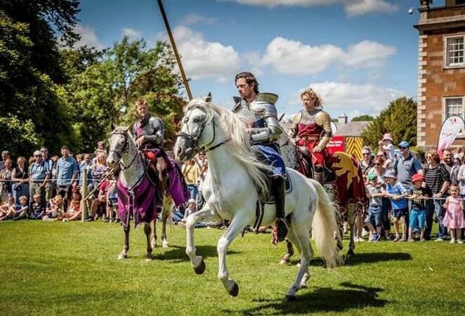 Jousting, St George's Day