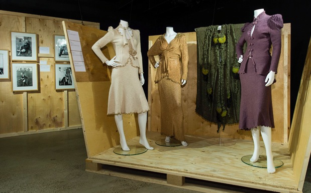 knitwear, chanel to westwood, fashion and textile museum