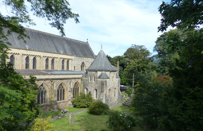 llandaff cathedral, welsh cathedrals, cardiff cathedral, medieval architecture