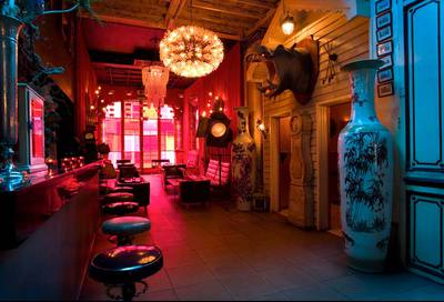 loungelover, taxidermy, shoreditch, cocktails, hippo