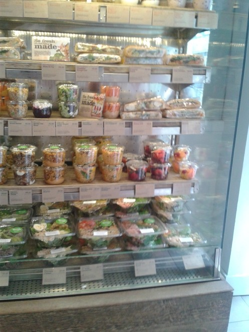 Pure cafe, lunch, salad, snack pots,