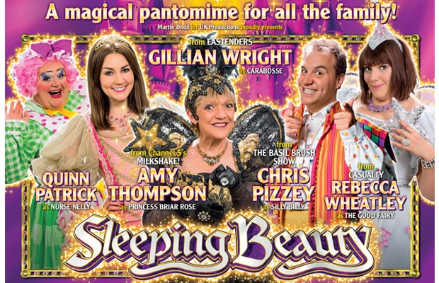 Sleeping beauty, Malvern theatre, panto, Christmas, preview