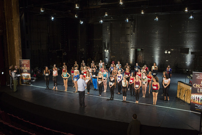 A Chorus Line, open auditions