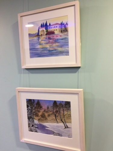 Art Exhibition, Chris Reade, Holly Wain, Brierley Hill's Nine Locks Art Group, Tim Nash, Dudley Canal and Tunnel Trust's Waterside Gallery, The Portal Visitor Centre,