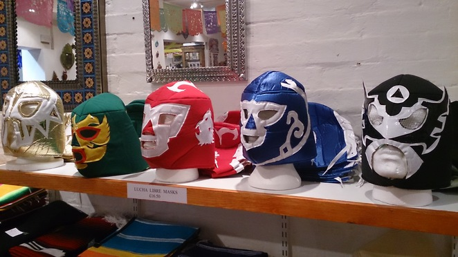 Casa Mexico, Mexican shop, produce, fashion, Mexican wrestling mask