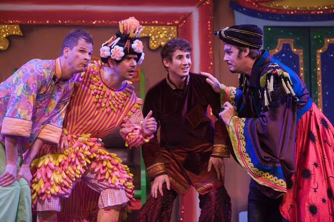 Cast of Aladdin at Durham Gala Theatre - Facebook image