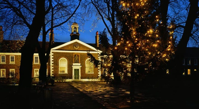 Christmas past, geffrye museum