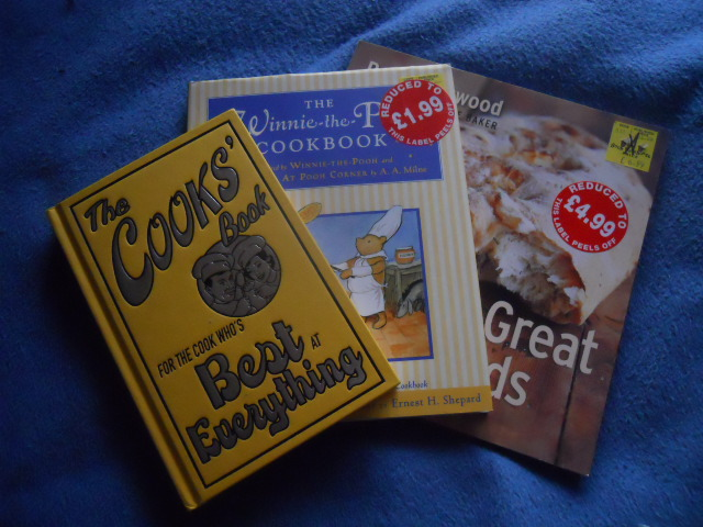 cook books, paul hollywood, winnie the pooh