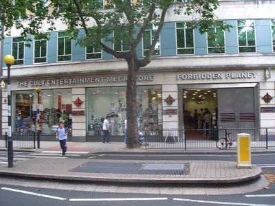forbidden planet london