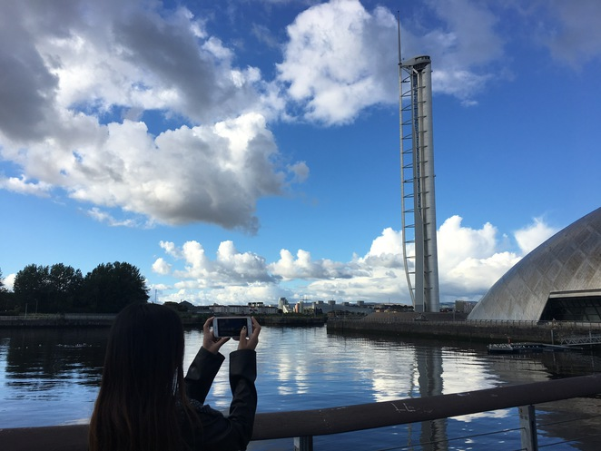 glasgow tower, glasgow, observation deck, tower, guinness world record, view, tourist, tourist attraction, attraction, things to see, glasgow science centre, united kingdom, scotland