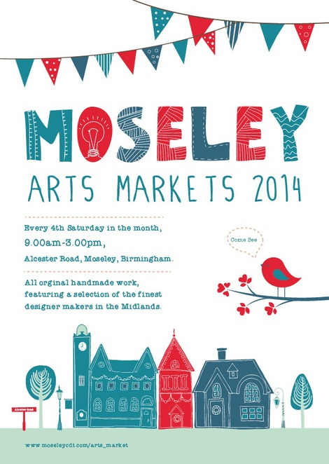Moseley arts market, Moseley arts, arts market