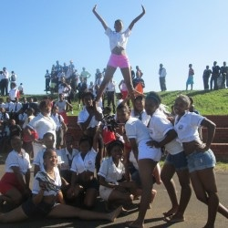 School children, South Africa, be united