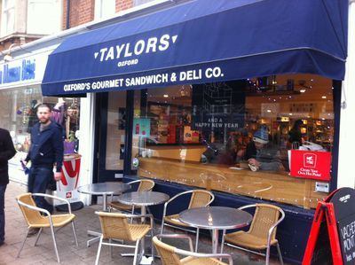 Taylors, Oxford, Gourmet, sandwich, fasta pasta, deli, family business