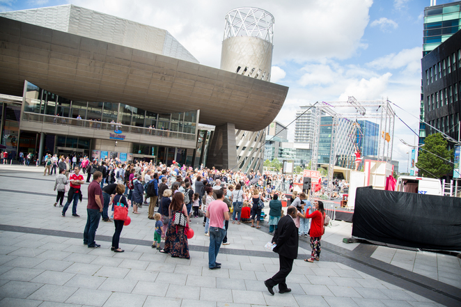 The Lowry Centre, Open day, Salford Quays