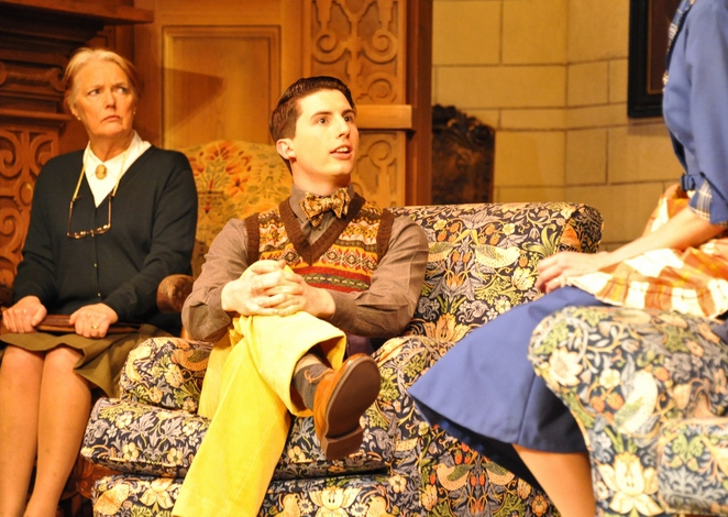 The Mousetrap, Louise Jameson, Oliver Gully. Credit Liza Maria Dawson
