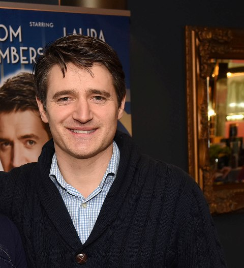 Tom Chambers in the theatre tour of Private Lives, Holby City, Waterloo Road, Strictly, Top Hat